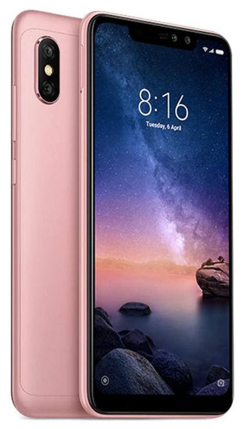 Xiaomi Redmi Note 6 Pro Global 3GB/32GB růžová