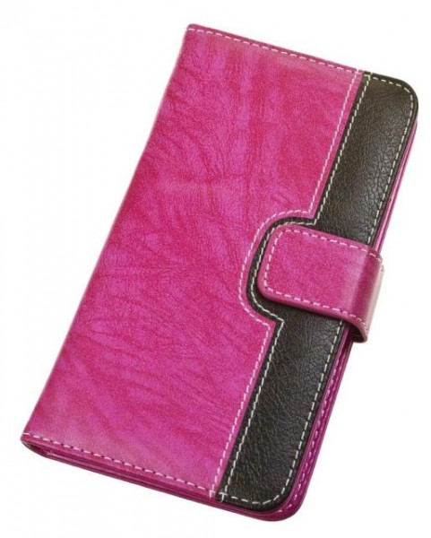 "Pouzdro BOOK CHEERY velikost M (4""- 4,5""), pink"