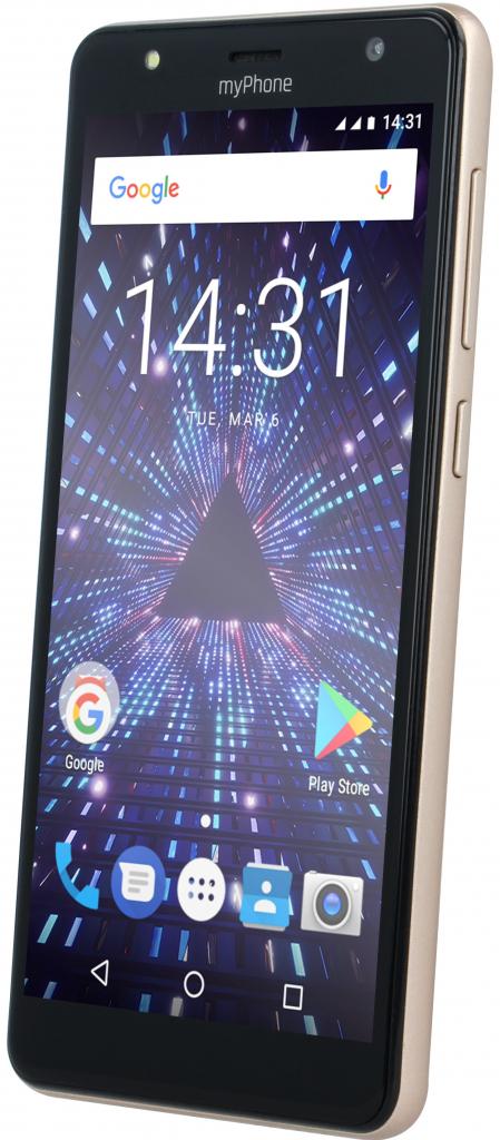 myPhone Pocket 18x9 zlatá