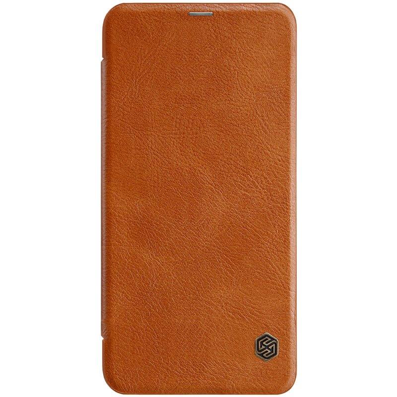 Flipové pouzdro Nillkin Qin pro Samsung Galaxy A7 2018 (SM-A750), brown