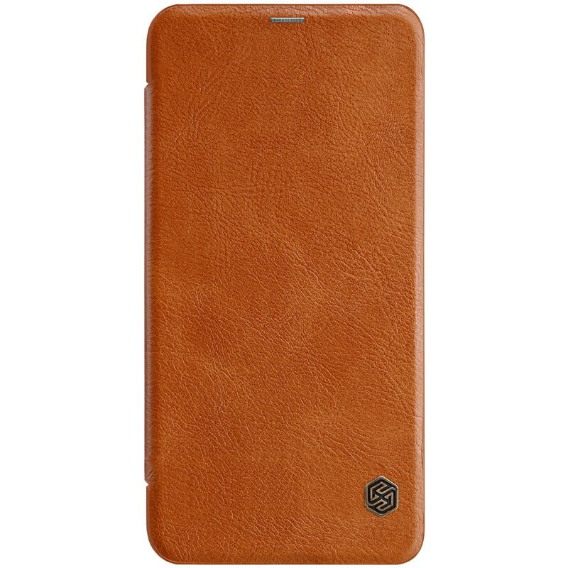 Flipové pouzdro Nillkin Qin pro Xiaomi Redmi Note 6 Pro, brown
