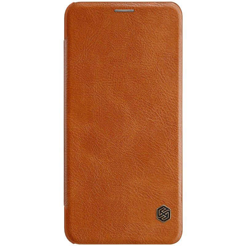 Flipové pouzdro Nillkin Qin pro Huawei Nova 3i, brown