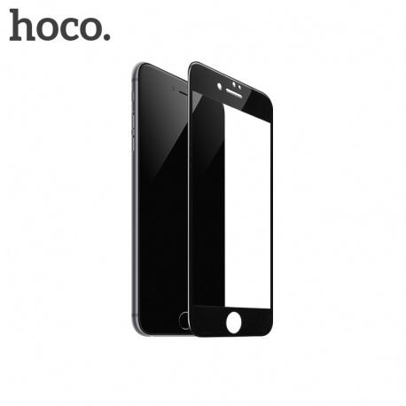 Temperované ochranné tvrzené sklo Hoco pro iPhone 7/8 černá