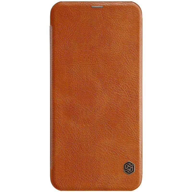 Flipové pouzdro Nillkin Qin pro Samsung Galaxy J6 Plus, brown
