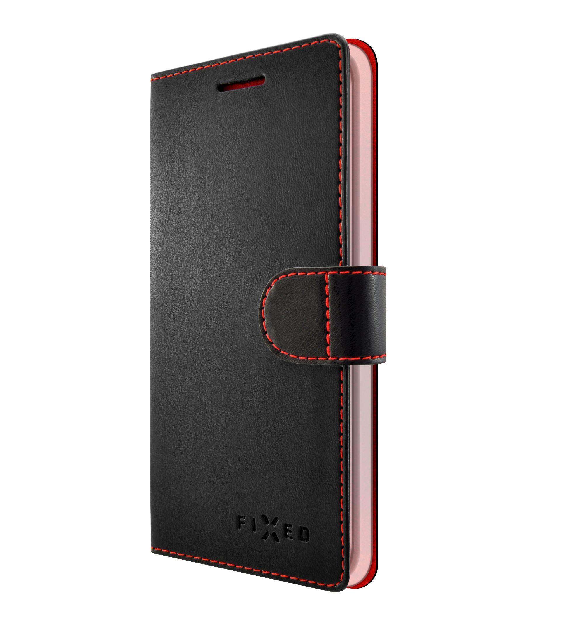 Pouzdro typu kniha FIXED FIT pro Nokia 6.1 Plus, black