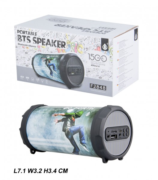 Bluetooth reproduktor Portable Speaker PLUS Mini F2848, Hi-pop
