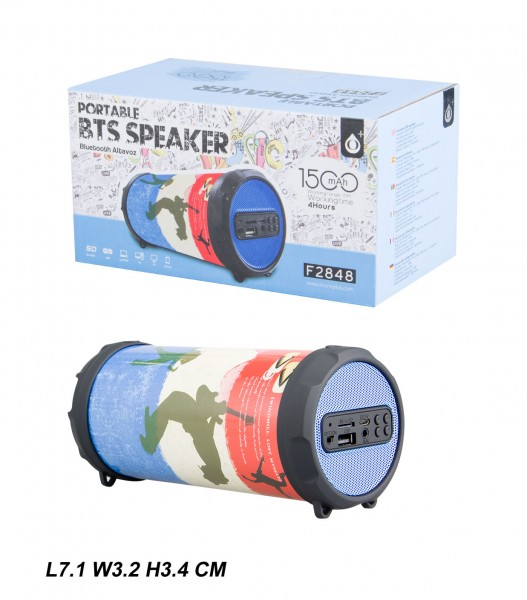Bluetooth reproduktor Portable Speaker PLUS Mini F2848, Deer