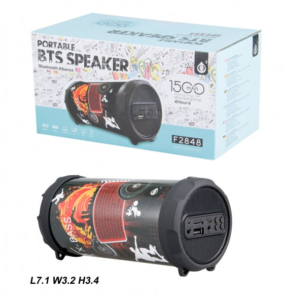 Bluetooth reproduktor Portable Speaker PLUS Mini F2848, Sport
