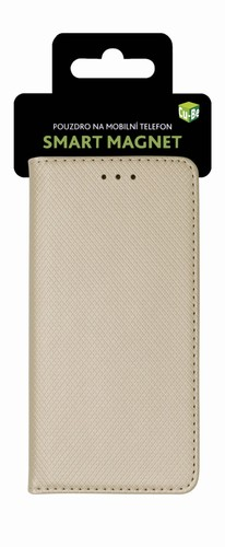 Smart Magnet flipové pouzdro pro Nokia 2.1, gold