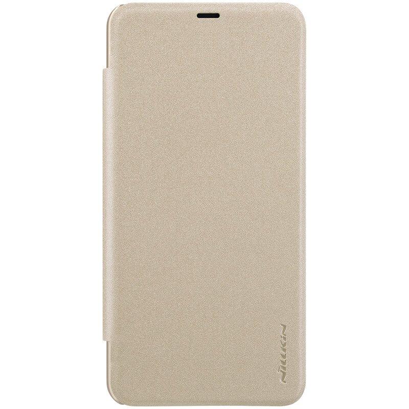 Nillkin Sparkle Folio Pouzdro Xiaomi Pocophone F1, gold