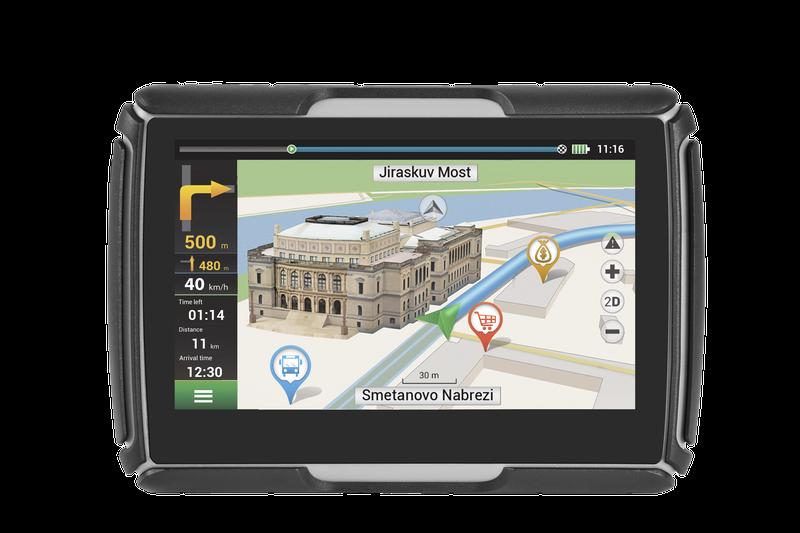 GPS Navigace NAVITEL G550 pro motocykly