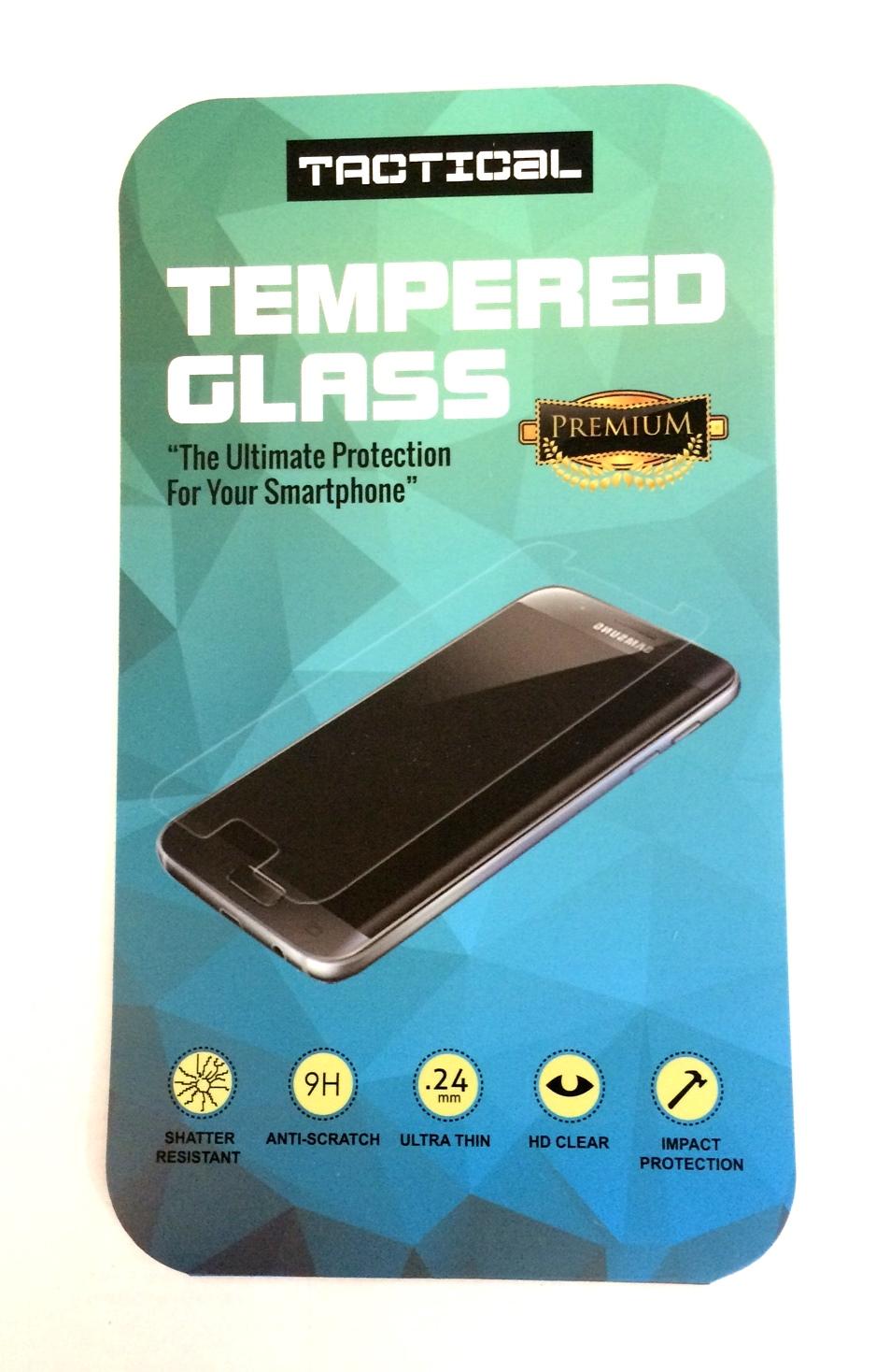 Tactical Tvrzené Sklo 2.5D pro Samsung Galaxy A7 2018, black (EU Blister)