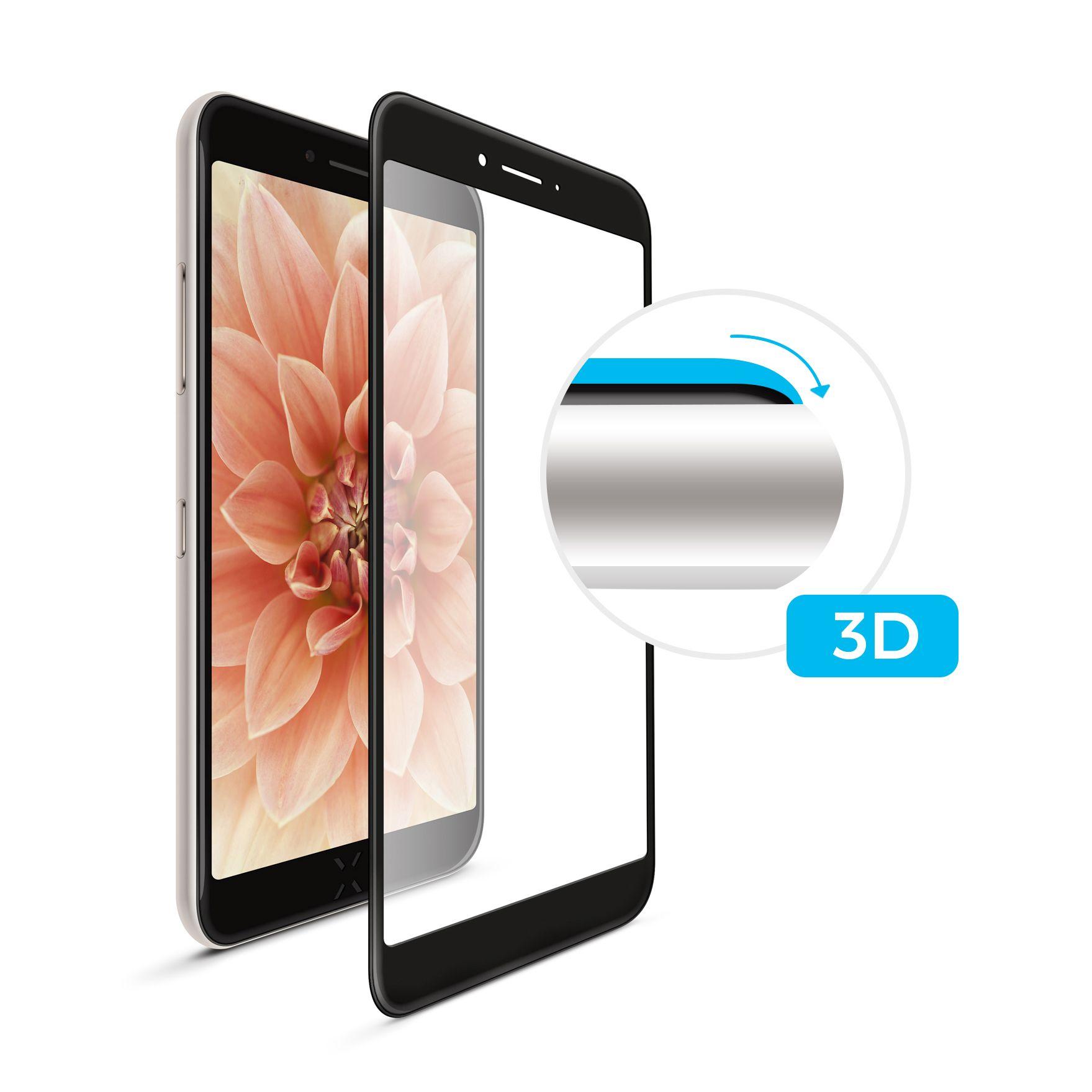 Tvrzené sklo FIXED Full-Cover 3D pro Samsung Galaxy A7 (2018), black