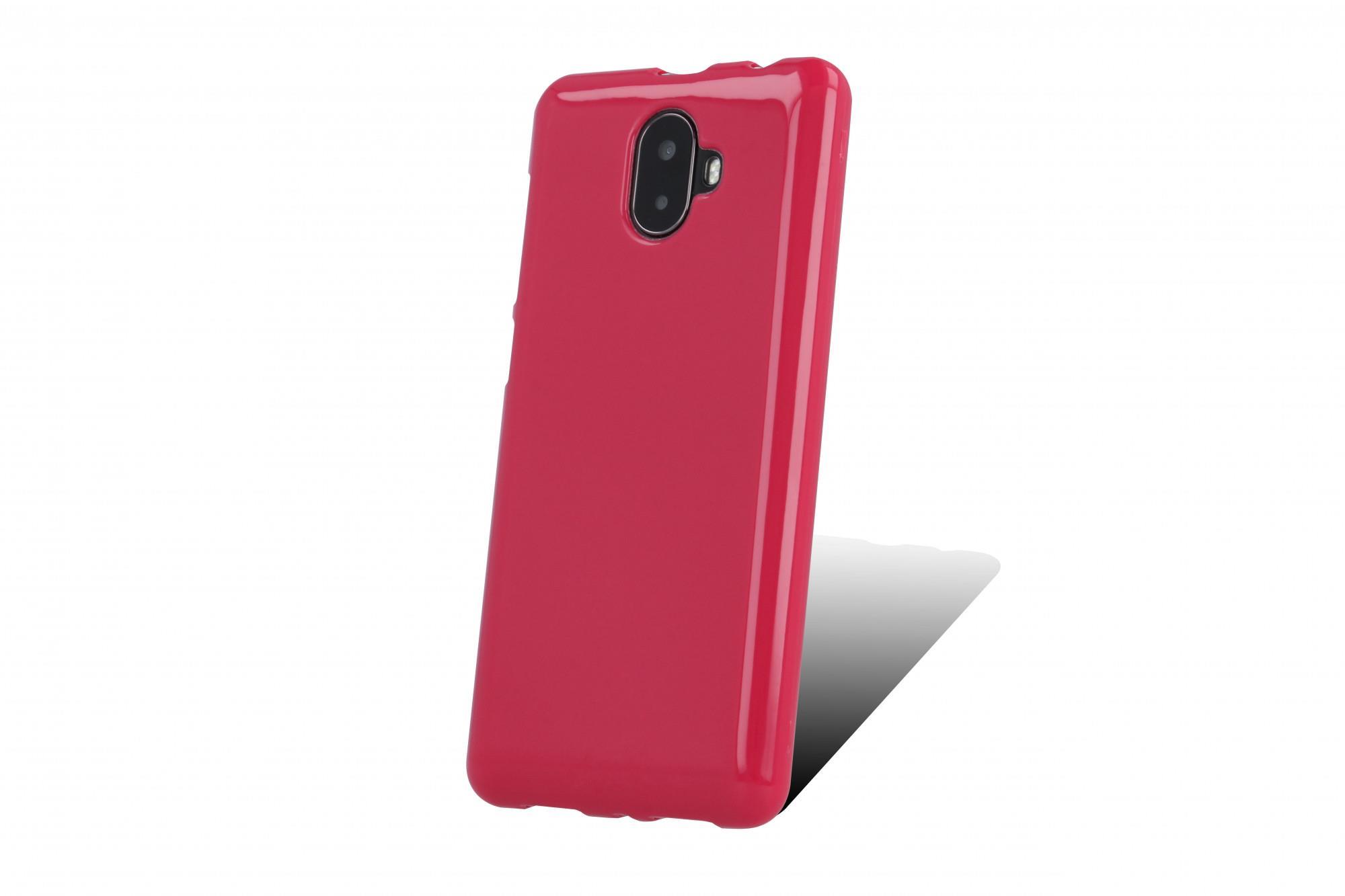 Silikonové TPU pouzdro pro myPhone Pocket 18x9 růžová