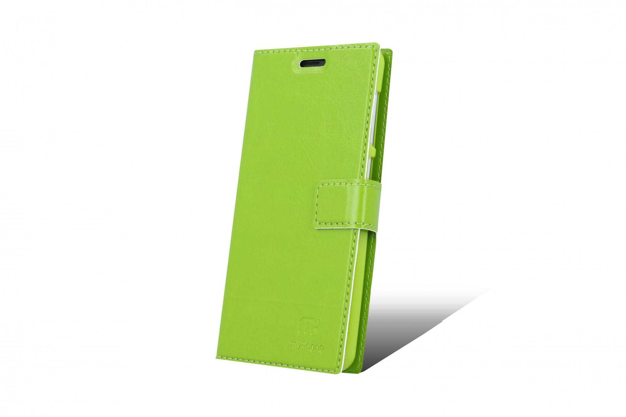 Flipové pouzdro pro myPhone Pocket 18x9 zelená