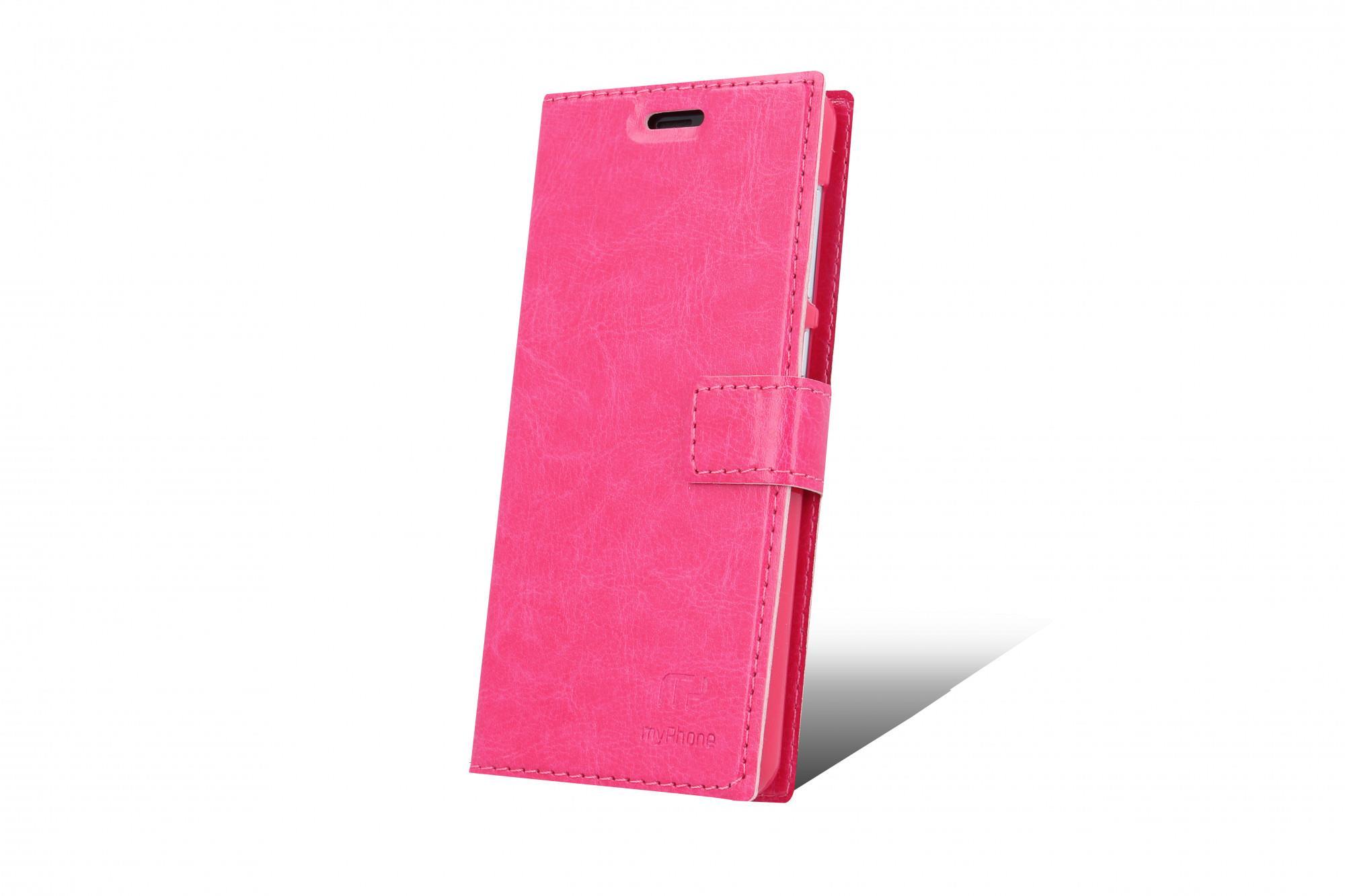 Flipové pouzdro pro myPhone Pocket 18x9 růžová