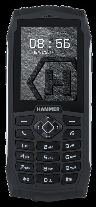 myPhone Hammer 3 Plus stříbrná