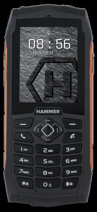 myPhone Hammer 3 Plus oranžová/černá