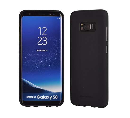 Pouzdro Mercury Soft feeling Huawei Y6 Prime 2018, black