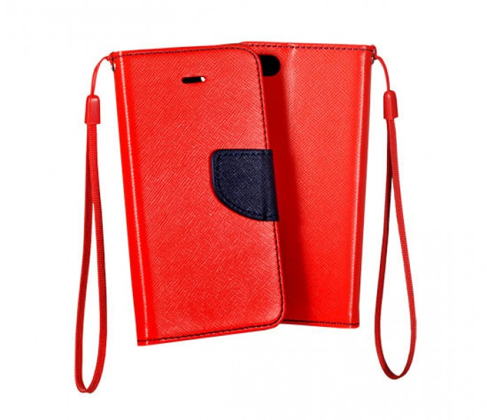 Pouzdro BOOK Fancy na Sony Xperia Z5 Premium, Red/Navy
