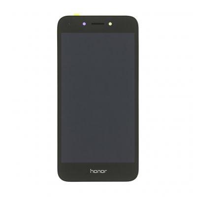 LCD + dotyk + přední kryt pro Honor Play, black