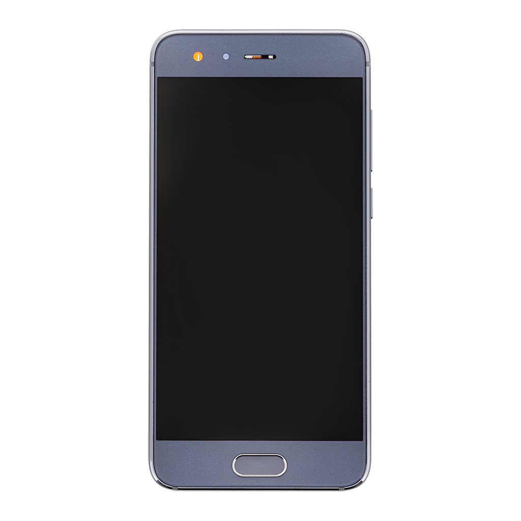 LCD + dotyk + přední kryt pro Honor 9, grey
