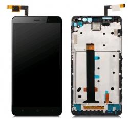 LCD + dotyk + přední kryt pro Lenovo A7010, black