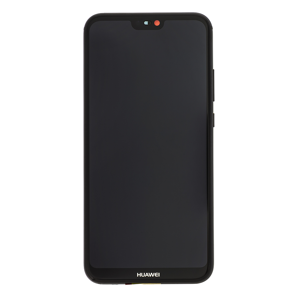 LCD + dotyk + přední kryt pro Huawei P20 Lite, black