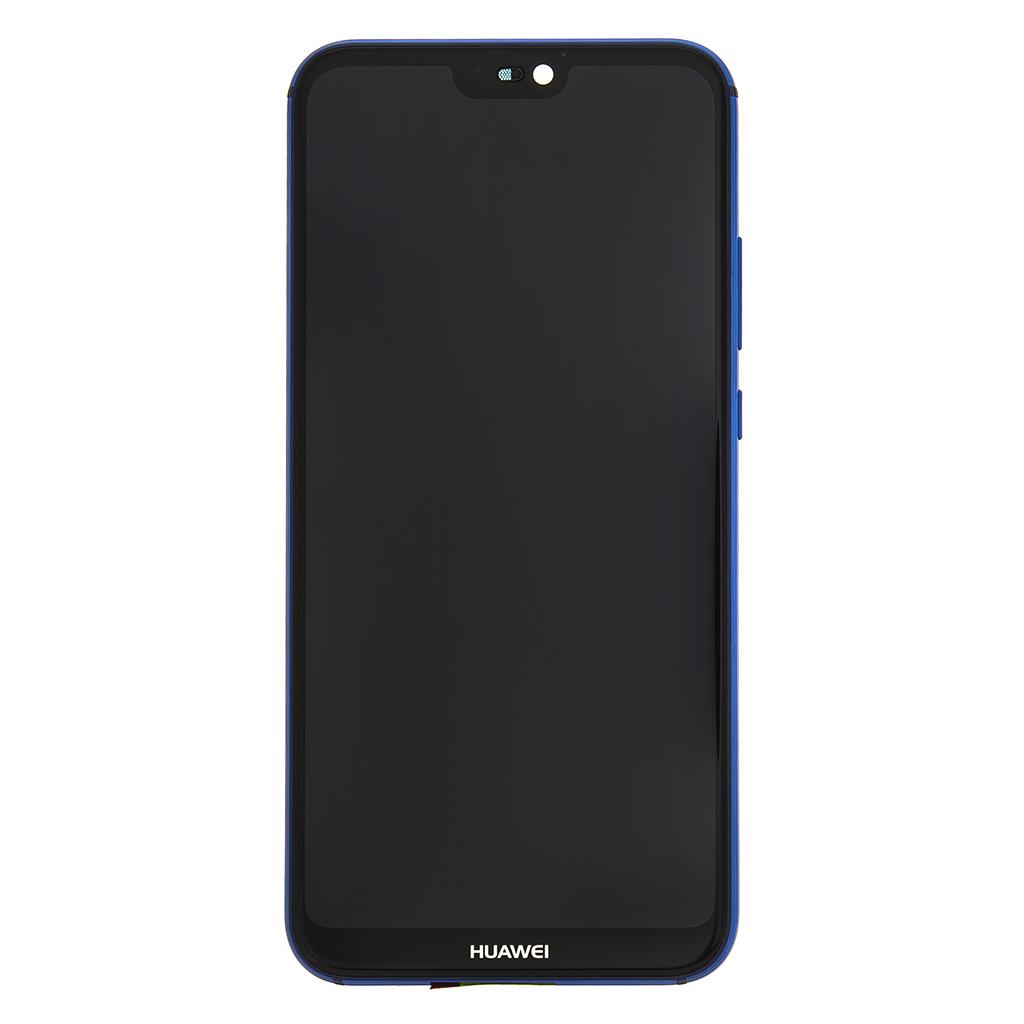 LCD + dotyk + přední kryt pro Huawei P20 Lite, blue