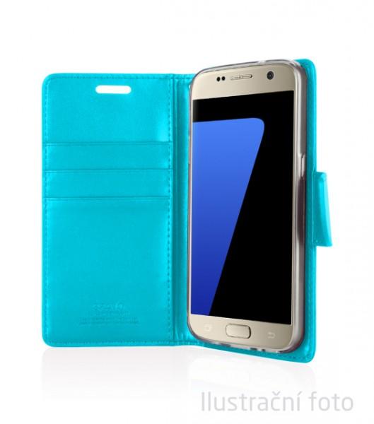 Pouzdro Mercury Goospery BRAVO Diary na Samsung Galaxy A5 (2017), Mint
