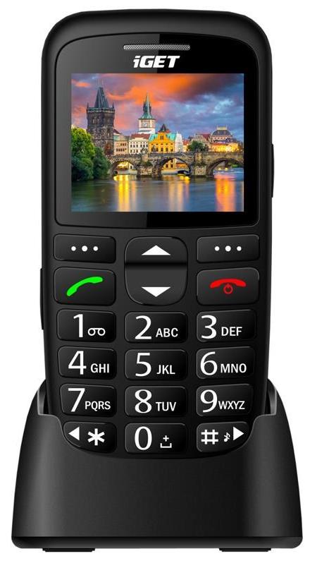 Seniorský telefon iGET SIMPLE D7