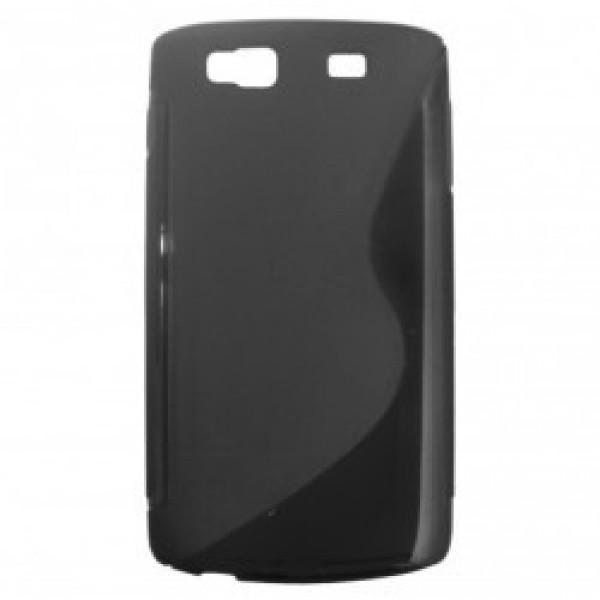Pouzdro SUPER GEL na Sony Xperia C C2305, Black