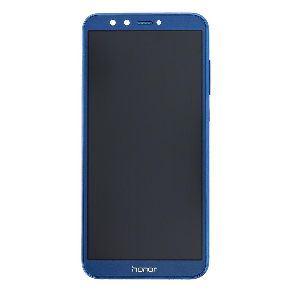LCD + dotyk + přední kryt pro Honor 9 Lite, blue