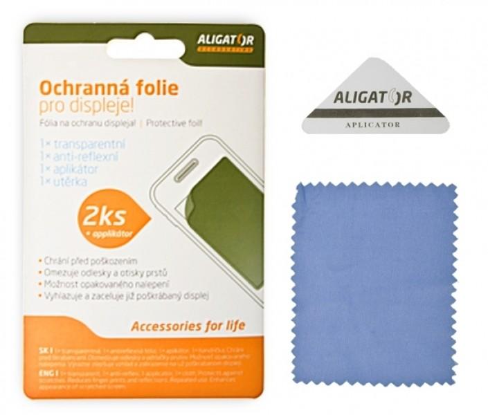 Ochranná fólie ALIGATOR na Nokia C3-01 Touch and Type, 2ks + aplikátor