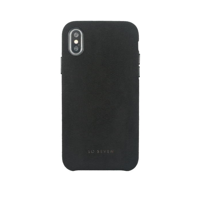 Zadní kryt SoSeven Sweet Gentleman Case pro Apple iPhone X/XS, Black