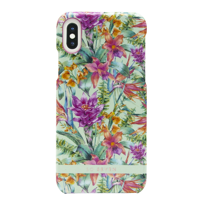 Zadní kryt SoSeven Hawai Case Tropical pro Apple iPhone X/XS, Blue