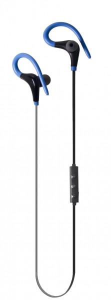 ALIGATOR sportovní bezdrátová sluchátka FR301X s mikrofonem, černo/modrá
