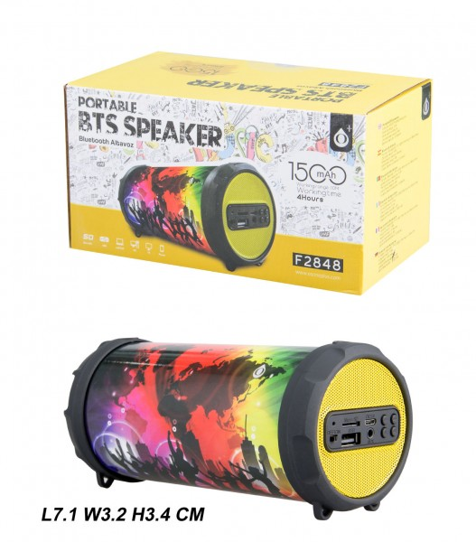 Bluetooth reproduktor Portable Speaker PLUS Mini F2848, Party