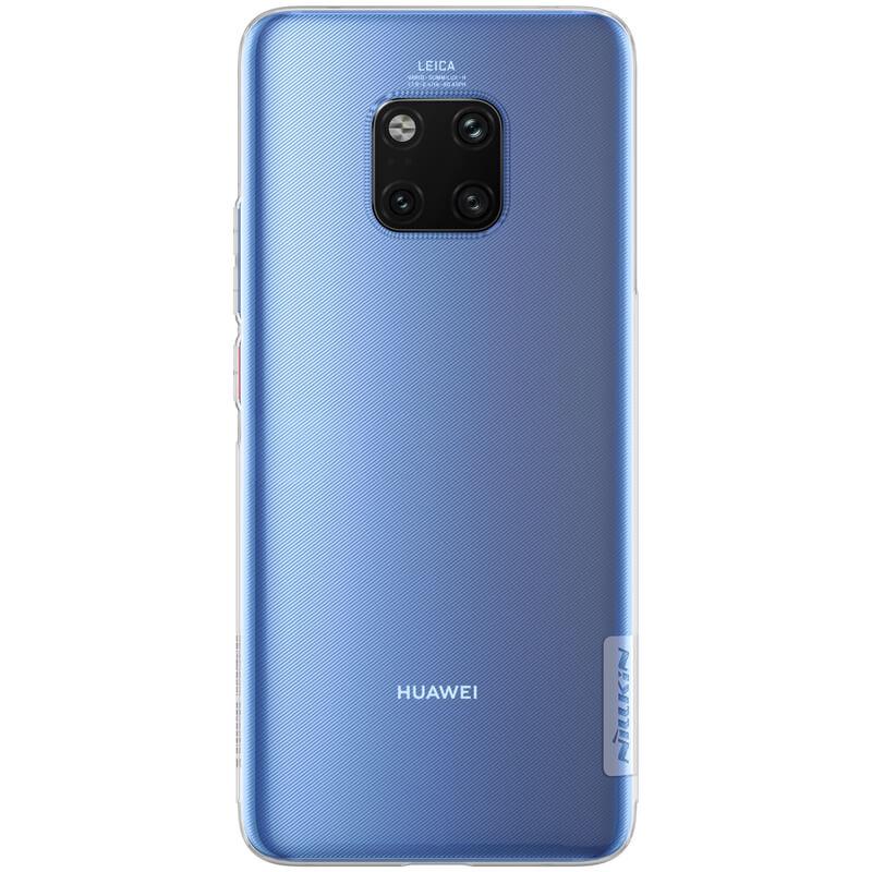 Silikonové pouzdro Nillkin Nature pro Huawei Mate 20 Pro, transparent