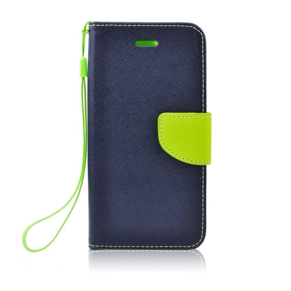 Flipové pouzdro Fancy Diary Huawei Y5 2018 , blue lime
