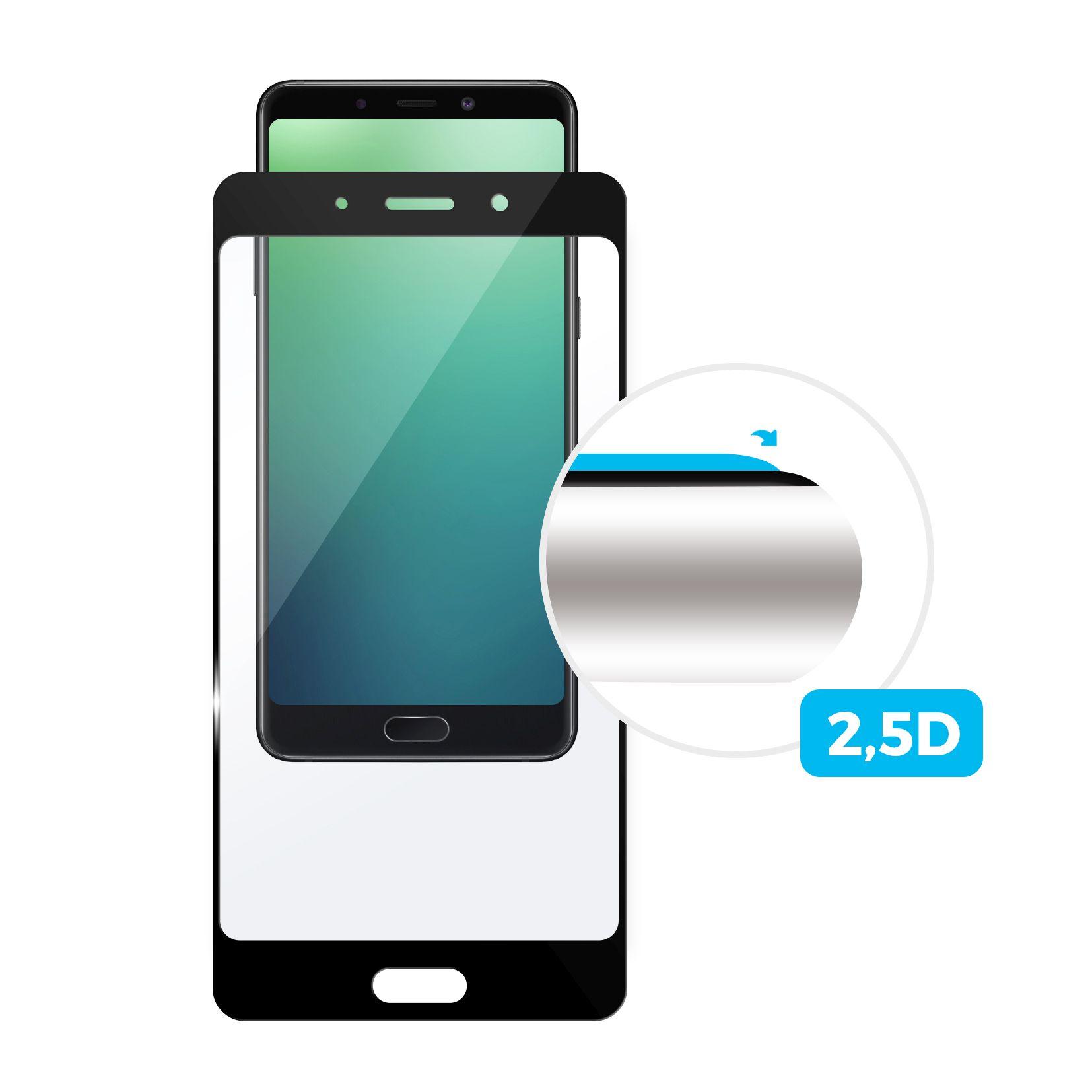 Tvrzené sklo FIXED Full-Cover pro Samsung Galaxy A7 (2018), black