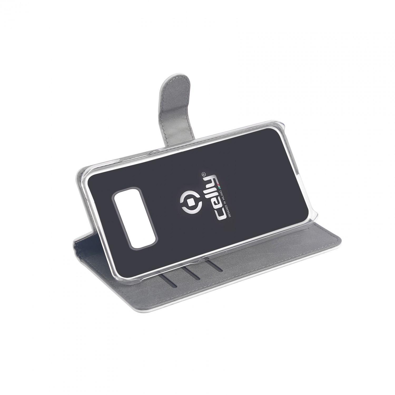 CELLY Wally flipové pouzdro pro Samsung Galaxy S10e, bílé