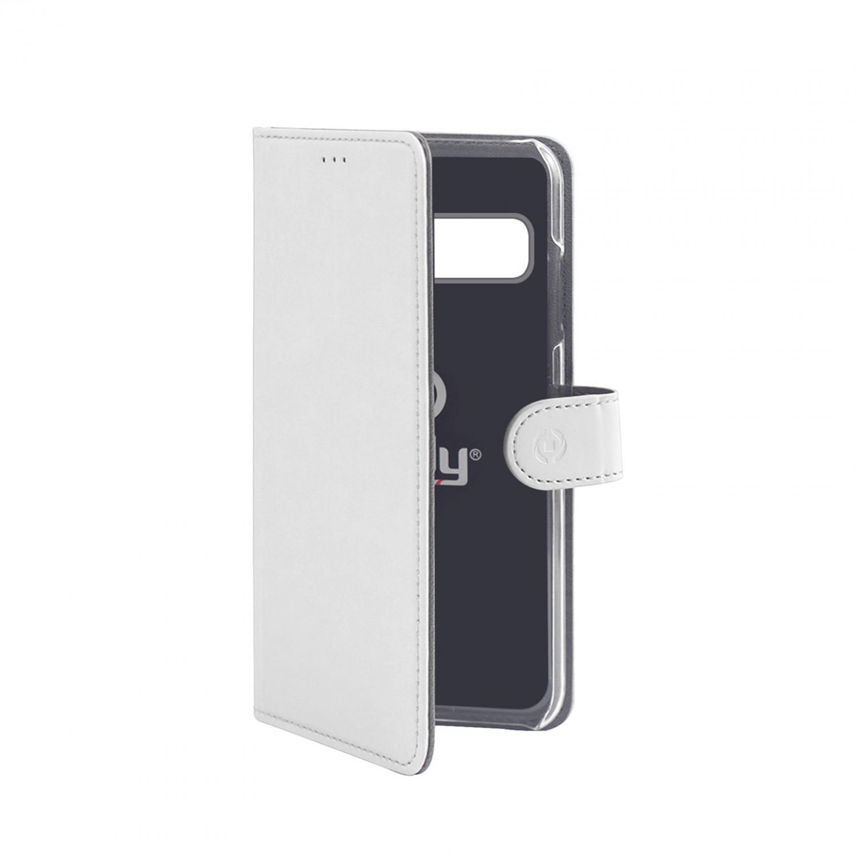 CELLY Wally flipové pouzdro pro Samsung Galaxy S10+, bílé
