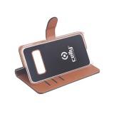 CELLY Wally flipové pouzdro pro Samsung Galaxy S10+, černé