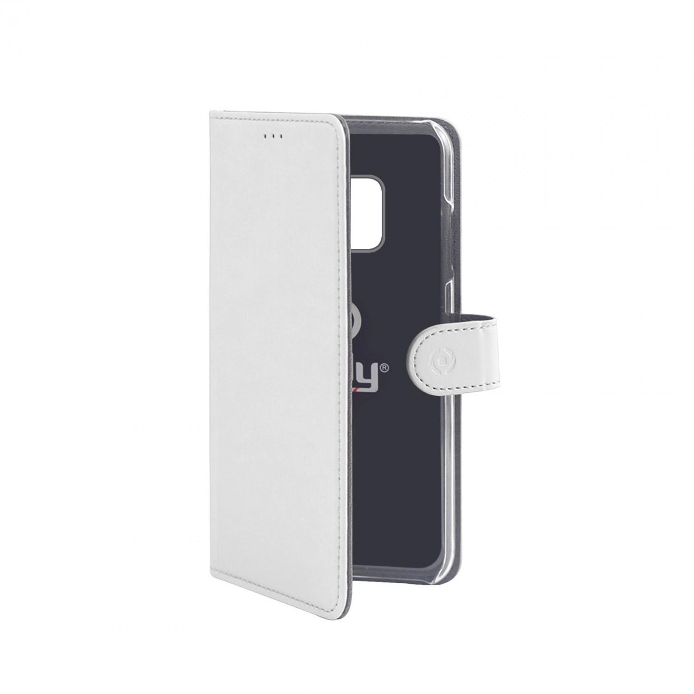 CELLY Wally flipové pouzdro pro Huawei Mate 20 Pro, bílé