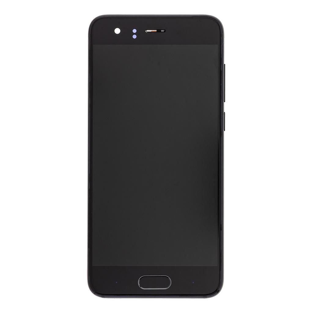 LCD + dotyk + přední kryt pro Honor 9, black
