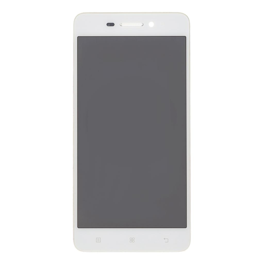 LCD + dotyk + přední kryt pro Lenovo S60, white