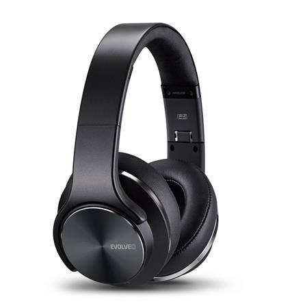 Bezdrátová sluchátka EVOLVEO SupremeSound E9 Bluetooth sluchátka a reproduktory 2v1, černá