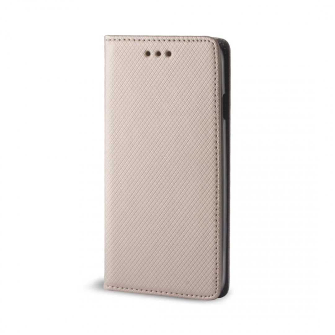 Flipové pouzdro Smart Magnet pro Samsung Galaxy S8 Plus, zlatá