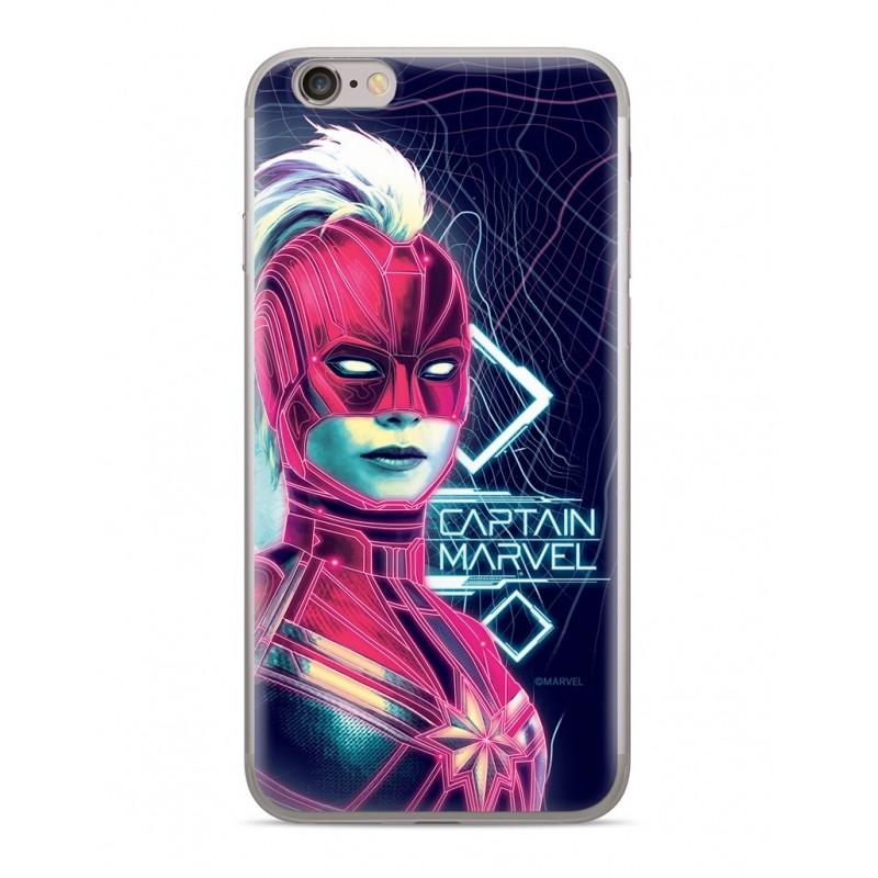 Zadní kryt Captain Marvel 013 pro Apple iPhone XR, dark blue